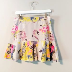 Tinley Road floral pleated skirt 2139
